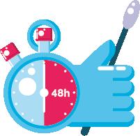 PCR 48 horas